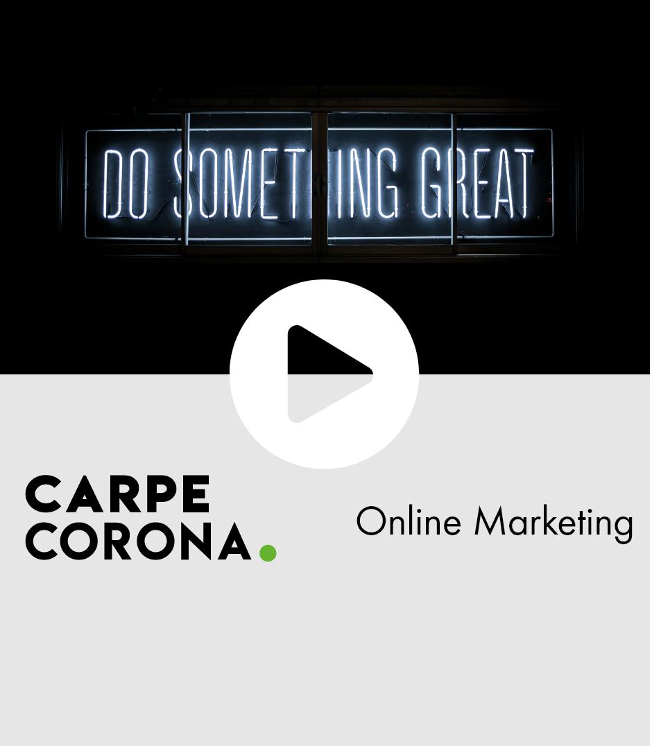 Webinar Online Marketing