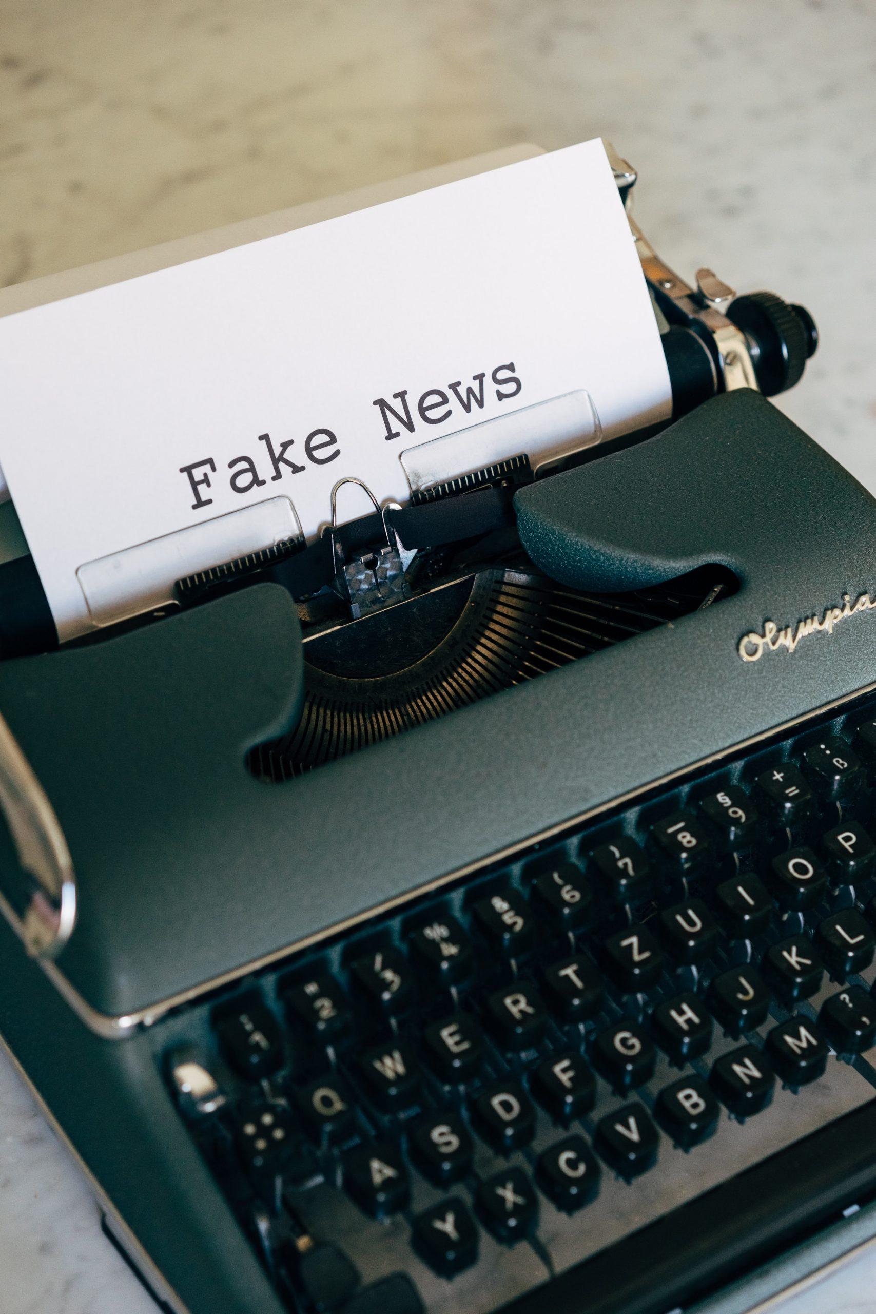 Schluss mit Fake News!
